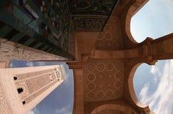 hassan ii moské arkivbild