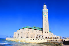 Hassan II moské, Casablanca Arkivfoton