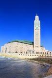 Hassan II moské, Casablanca Arkivbild
