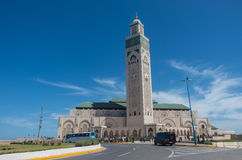 Hassan II moské Casablanca, Royaltyfri Fotografi