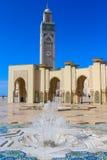 Hassan II moské, Casablanca Royaltyfria Bilder