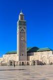 Hassan II moské, Casablanca Fotografering för Bildbyråer