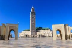 Hassan II moské, Casablanca Royaltyfri Fotografi
