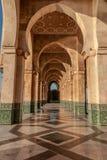 Hassan II moské, Casablanca Marocko Arkivfoton