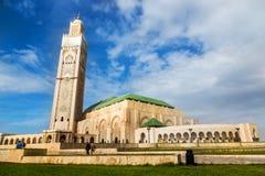 Hassan II moské, Casablanca, Marocko Arkivfoton