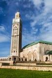 Hassan II moské, Casablanca, Marocko Royaltyfri Foto