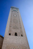 Hassan II moské - Casablanca, Marocko Arkivfoton