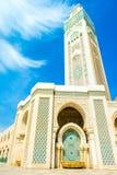 Hassan II moské, Casablanca, Marocko, Afrika Royaltyfri Foto