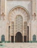 Hassan II moské, Casablanca morocco Fotografering för Bildbyråer