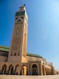 Hassan II moské i Casablanca Arkivfoto