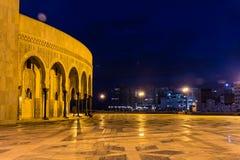 Hassan II moskee Stock Foto