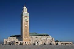 Hassan II moskee Royalty-vrije Stock Foto's