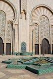 Hassan II Moskee Casablanca Stock Foto's