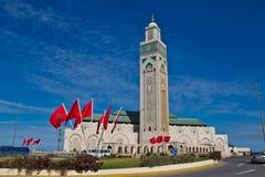 Hassan II Moskee Casablanca Royalty-vrije Stock Afbeelding