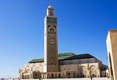 Hassan II Moskee in Casablanca Stock Foto