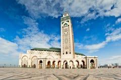 Hassan II Moskee, Casablanka, Marokko Stock Foto