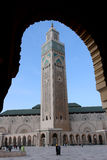 Hassan II Mosque Royalty Free Stock Photo