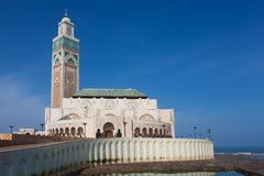Hassan II mosque Royalty Free Stock Image