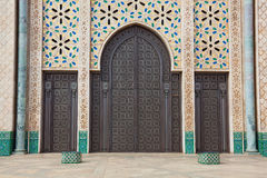 Hassan II mosque Royalty Free Stock Images