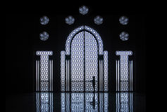Hassan II mosque in Casablanca , Morocco Royalty Free Stock Images