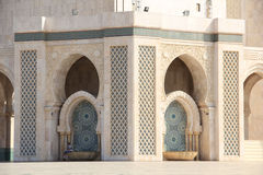 The Hassan II Mosque Stock Images