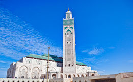 Hassan II Mosque Casablanca Stock Images