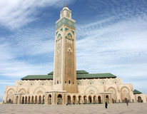 Hassan II mosque in Casablanca. 1, Morocco stock image