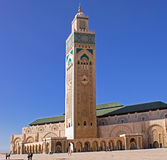 Hassan II Mosque in Casablanca Stock Image