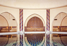 Hassan II Mosque in Casablanca. Morocco, Casablanca Royalty Free Stock Image
