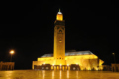 Hassan II Mosque in Casablanca Royalty Free Stock Images