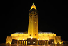 Hassan II Mosque in Casablanca Royalty Free Stock Photos