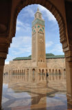 Hassan II Mosque in Casablanca Stock Photo
