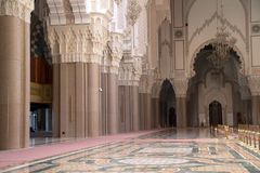 Hassan II Mosque Casablanca detail Royalty Free Stock Image