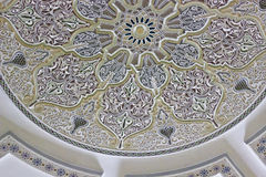 Hassan II Mosque Casablanca interior detail Royalty Free Stock Images