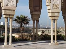 Hassan II Mosque, Casablanca Royalty Free Stock Photography