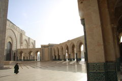 Hassan II Mosque in Casablanca, Morocco Royalty Free Stock Images