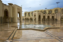 Hassan II Mosque in Casablanca, Morocco Royalty Free Stock Photography