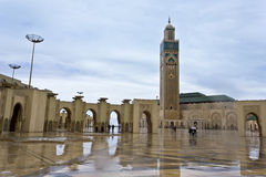 Hassan II Mosque in Casablanca Stock Photography