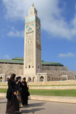 The Hassan II Mosque Stock Photography