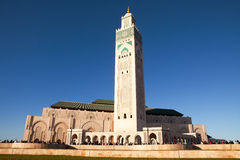 Hassan II Mosque, Casablanca, Morocco Stock Photo