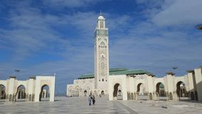 Hassan II Mosque in Casablanca, Morocco stock photo