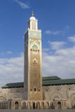 The Hassan II Mosque Royalty Free Stock Photo