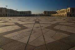 Hassan II Mosque in Casablanca, Morocco royalty free stock photo