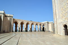 Hassan II mosque in Casablanca. stock photography