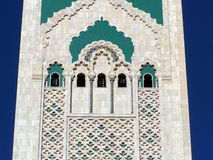 Hassan II mosque detail (2), Casablanca, Morocco Stock Photography