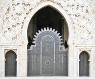 Hassan II Mosque entrance Stock Photos