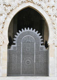 Hassan II Mosque entrance Stock Photography