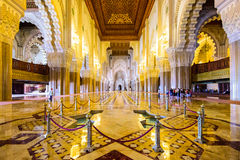 Hassan II Mosque Interior Stock Images