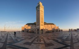 Free Hassan II Mosque Is A Mosque In Casablanca, Morocco. It Is The Largest Mosque In Africa And The 3rd Largest In The World. Stock Photography - 167982352