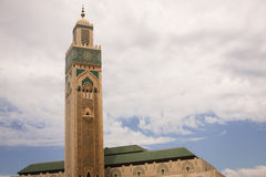 Hassan II Mosque. One of the world's largest Mosques in Casablanca Stock Photography